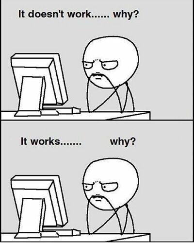 Meme de por qué funciona
